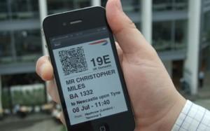 mobile check-in