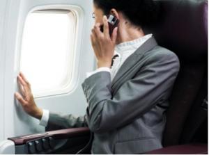 airport smartphone