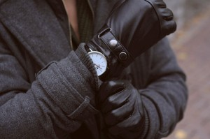 touchpoint leather glove